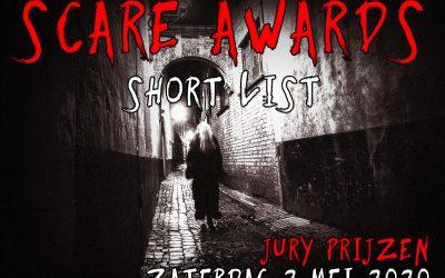 Genomineerde jury prijzen Scare Awards